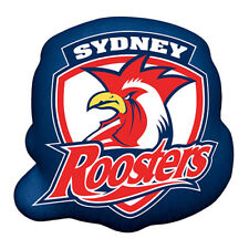 Sydney Roosters NRL Fabric Logo Shape Cushion Pillow Man Cave Bar Christmas Gift