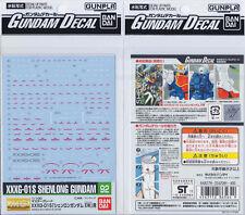Bandai Genuine MG 1/100 XXXG-01S Gundam Shenlong EW Wing waterslide decal GD 92