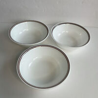 "Set of 3 Corelle by Corning Retired Batik Cereal Soup salad bowls 6 1/4"""