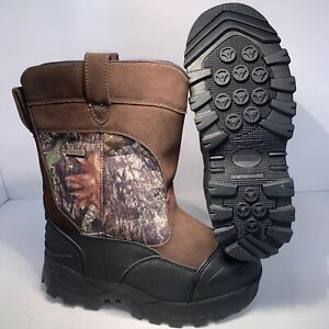 Guide Gear Giant Timber Men's Thinsulate 2000 Waterproof Hunting Boots Mossy Tre