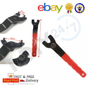 Rolson Adjustable Angle Grinder Key Pin Wrench Spanner 20-50mm