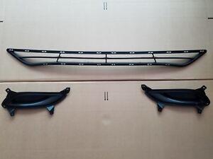 3PC Set 2011-2013 SONATA Front Bumper Lower Grille w/ L & R Fog Light Bezel NEW