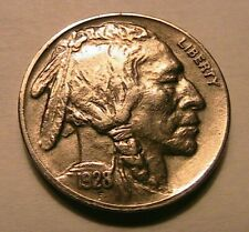 1928-S Buffalo Nickel Choice XF+/AU Lustrous Original Toned Indian Head 5C Coin