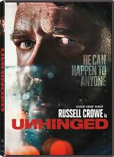 Unhinged Dvd - Brand New - Russell Crowe - Drama - Free Shipping!