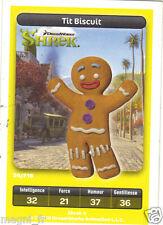 Carte Carrefour Dreamworks n° 24/216 - Tit Biscuit - Série SHREK (A3435)