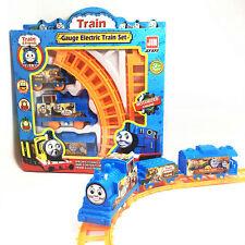 Kids Thomas and FriendsElectric Train Track Baby Boy Girl Birthday Gift Rail Car
