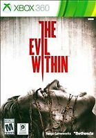 THE EVIL WITHIN (Microsoft XBOX 360, 2014) VIDEO GAME