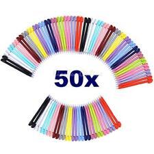 50pcs Plastic Touch Stylus Pen for Nintendo DS Lite Console Random Color 8.5cm