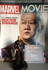 MARVEL MOVIE COLLECTION #63 Wong Figurine (Doctor Strange) EAGLEMOSS engl. Magaz