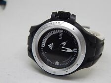 ADIDAS ADP 1544 GENTS BLACK/WHITE WATCH WITH DATE FEATURE