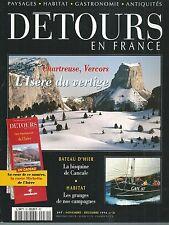 DETOURS EN FRANCE 30. CHARTREUSE, ISERE, VERCORS, BATEAU D'HIER...ES8