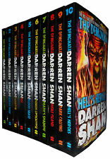 Darren Shan The Demonata 10 Books Collection Pack Set Brand New Free P & P