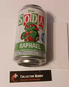 Funko Vinyl Soda TMNT Raphael Figure Sealed Can Limited Edition 12,500 Pcs