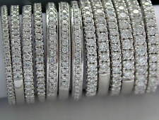 DIAMOND WEDDING RING + PLATINUM + FROM 1.50mm WIDE + CHANNEL/GRAIN SET DIAMONDS