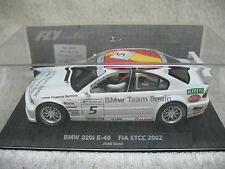 1/32 SCALE FLY #5 2002 BMW TEAM SPAIN BMW 320I E46 FIA ETCC #88079 SLOT CAR-MIB