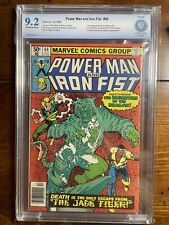 CBCS 9.2 POWER MAN AND IRON FIST #66 MARVEL 1980 2ND APPEARANCE SABRETOOTH