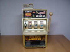 Vintage Antique Automatic Jackpot Coin Tin Toy Slot Machines Japan - Not Working