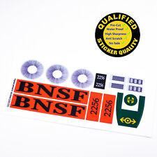 CUSTOM sticker for LEGO 10133 BNSF GP-38 Locomotive, Premium quality