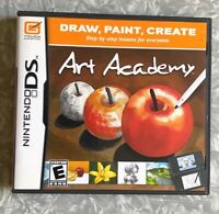 Art Academy Nintendo DS Complete w/ Manual TESTED Fast Ship!