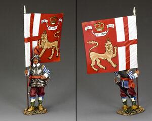Flagbearer Kings Lifeguard Pike & Musket PnM021 English Civil War King & Country