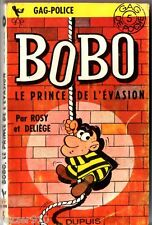 GAG DE POCHE n°5 ¤ BOBO ¤ PRINCE DE L'EVASION ¤ DUPUIS