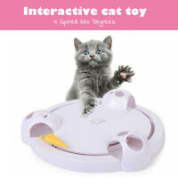Interactive Cat Toy Automatic Pet Toy Speed Adjustable Toy Electronic Mouse New