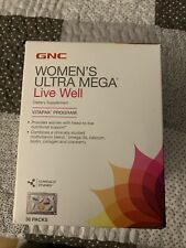 WOMEN'S ULTRA MEGA LIVE WELL DIETARY SUPPLEMENT VITAPAK PROGRAM 29 PACKS 11/2020