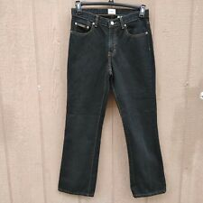 Calvin Klein Boot Cut High Rise Women's Jeans Size 6 Black