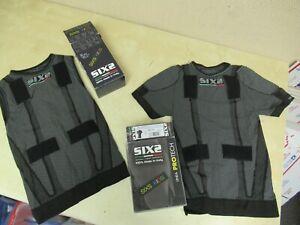 KIDS SIX2 ITALY HIGH PERFORMANCE CLOTHING - SLEEVELESS TANK TOP + T-SHIRT MX PRO