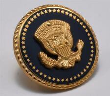 President Bill Clinton Blue COBALT Lapel Pin White House Presentation Box Ver. 2