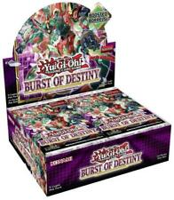 More details for yugioh! burst of destiny 1st edition booster box x24 booster packs - pre-order