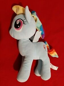 """Plush My Little Pony """"DASH""""  36cm / 14"""". By Hasbro, 2016. Used. Good condition."""