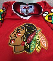 Chicago Blackhawks Jersey CCM Youth L/XL Ice Hockey NHL Sewn Made in Canada
