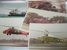 More details for 5 older large royal navy helicopter photographs gosport etc