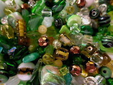 100g Forest Colours Glass Bead Mix #1668 Combine Postage-See Listing