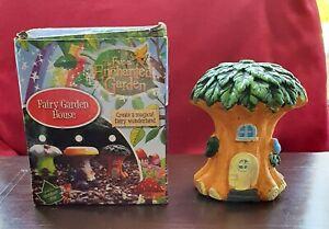 The Fairies Enchanted Garden - Fairy Garden House - Boxed - Ref 956351