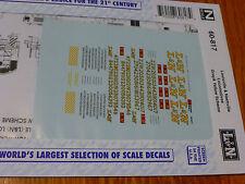 Microscale Decal N  #60-817 Louisville & Nashville Diesels (1963-1970) Diesel -