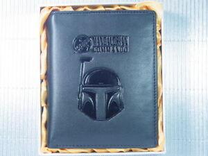 Star Wars Boba Fett Helmet Bounty Hunter Bantha Leather Wallet