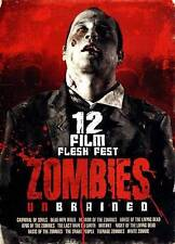 Zombies Unbrained: 12 Film Flesh Fest (DVD, 2013, 3-Disc Set)   BRAND NEW SEALED