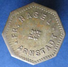 Old Rare Deutsche token - Arnstadt - Fr. Nagel - 933.1 -  mehr am ebay.pl