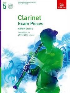 ABRSM Clarinet Exam Grade 5 Score, Part & 2 CDs