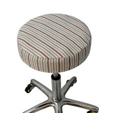 Round Stool Cover Solid Color Round Chair Slipcover Soft Lifting Bar Stool Cover