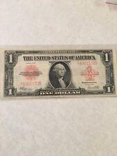 FR. 40 $1 One Dollar 1923 Legal Tender Red seal