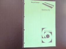 Original Service Manual Schaltplan Bang&Olufsen Beomaster 2000