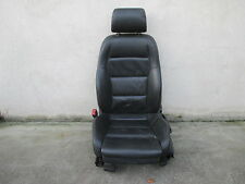 LEDER Fahrersitz Sitz vorne Audi A4 B6 8E Sitze Ausstattung schwarz SOUL