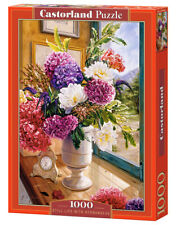 """Castorland Puzzle 1000 Pieces STILL LIFE WITH HYDRA 27x18.5"""" Sealed box C-104444"""