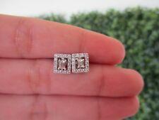 .54 Carat Diamond White Gold Earrings 18k E109 sep