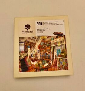 Wentworth wooden jigsaw puzzle Wish upon a Bookshop 500 pieces