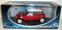 SOLIDO 1/18 - 8080 NEW BMW MINI COOPER 2001 - RED / WHITE ROOF