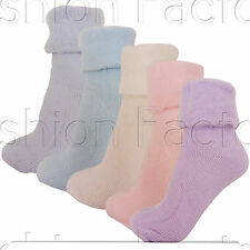 3 Pairs Women Ladies Sleeping Thermal Socks Warm Winter Cosy Bed Fleece Lined